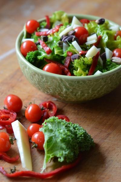 Chou Kale à la pistache, chou kale, pistache, huile de pistache