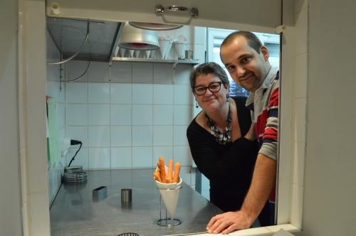 Chichis aux haricots blancs et piment chez Cédric Legrand, chef du restaurant « Au fil de de l'O » à Vieille-Chapelle, chichis, Cédric Legrand, au fil de l'O, Vieille-Chapelle