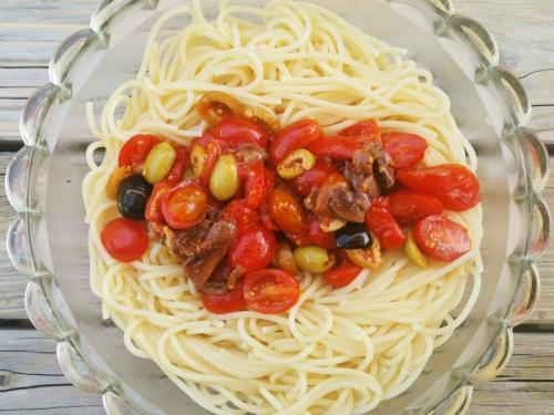 Spaghettis olives et menthe, la cocotte, la voix du nord