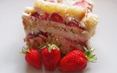 charlotte aux fraises, fraises, charlotte
