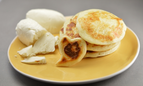 Crespellamozza, crêpes, mozzarella