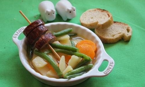 soupe à la kielbasa, kielbasa, saucisse polonaise