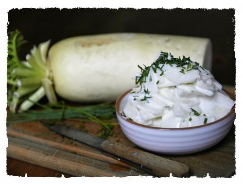 Daïkon tout blanc en condiment, la Cocotte, la voix du nord