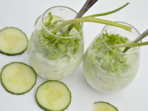 Smoothie vert de concombre, smoothie, concombre