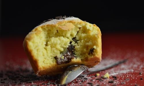 Muffins au chocolat fondant et cédrats, muffins, chocolat, chocolat fondant, cédrat