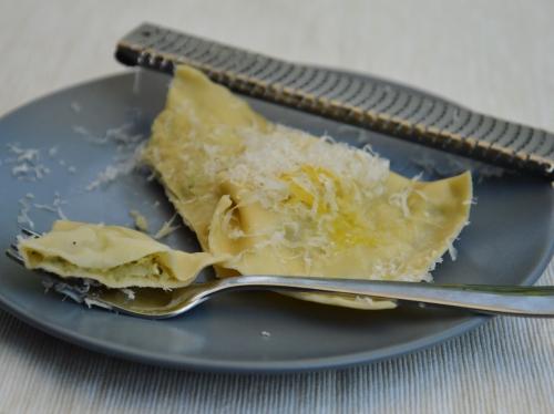 Ravioles aux artichauts, ravioles, artichaut