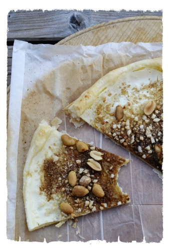Tarte feuilletée aux noix et cassonade, tarte feuilletée, noix, cassonnade, la cocotte, la voix du nord