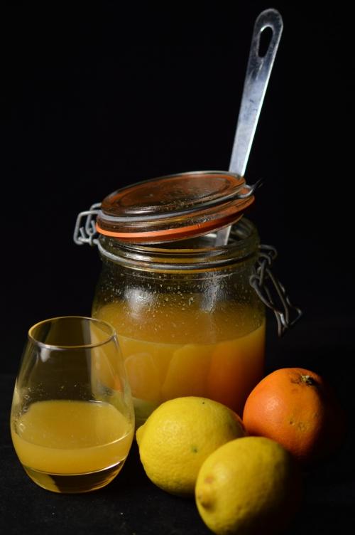 Vin d'agrumes, ornages bio, citrons bio, La Cocotte