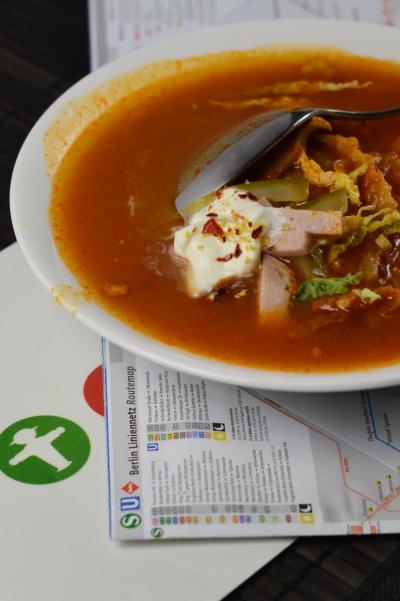 Soljanka, soupe, ex-RDA, soupe russe