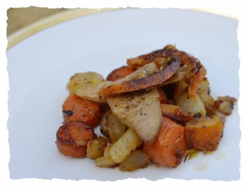 Foie gras frais aux légumes glacés d'hiver, foie gras, carottes, navets, Noël, la Cocotte, la voix du nord