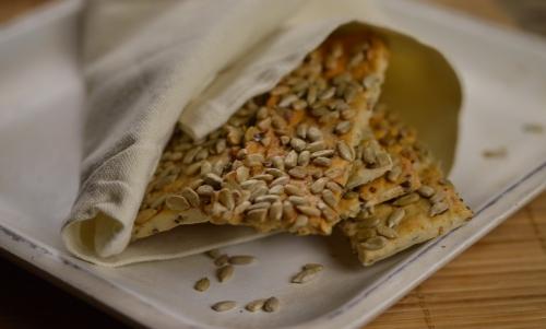 Croustilles aux graines, croustilles, graines de tournesol, La Cocotte