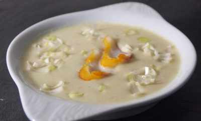 soupe de haddock au lait, haddock