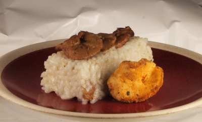 risotto aux girolles, risotto, girolles, riz arborio, riz carnaroli