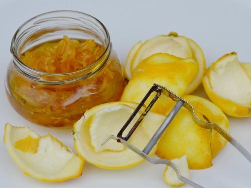 Confit de zestes et citrons confits, citrons, citrons confits, zestes de citron