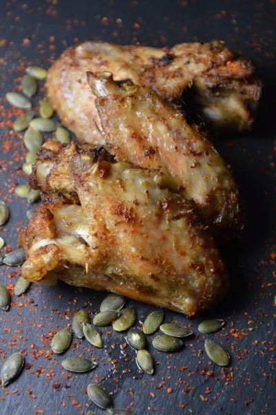 Poulet Tching-tchong, ailes de ouplet, poulet