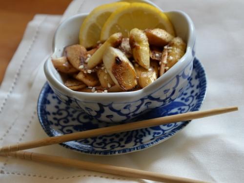 Salade d'asperges de Sichuan, la cocotte, la voix du nord