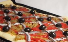 pissaladière, anchois, cuisine niçoise