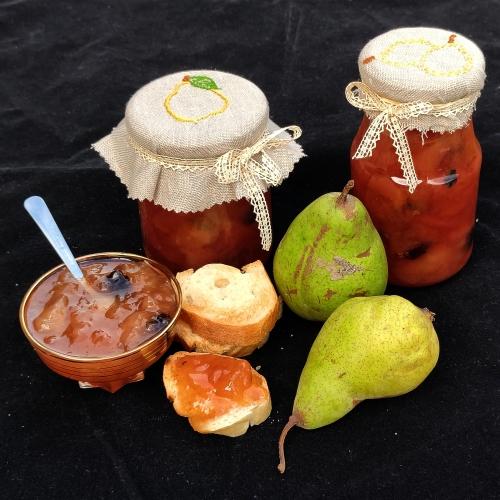 Confiture de poires, la cocotte, la voix du nord