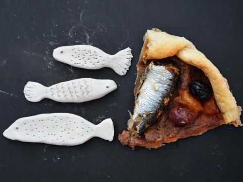 Tarte oignons rouges-sardines, la cocotte, la voix du nord