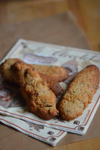 Cookies aux fruits secs, cookies, raisins, cerises