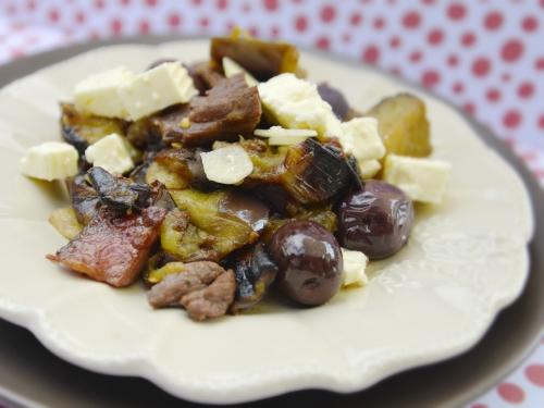 Sauté d'aubergines au steak, la cocotte, la voix du nord