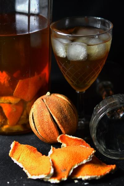 Orangin', oranges, gin, oranges de Sicile