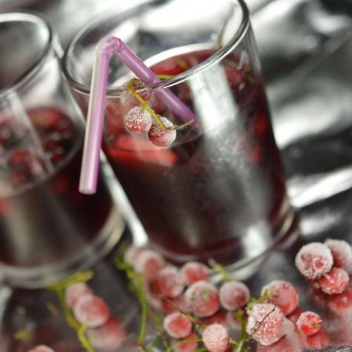 Vin d'été à la groseille, groseilles, vin rouge, pommes Discovery