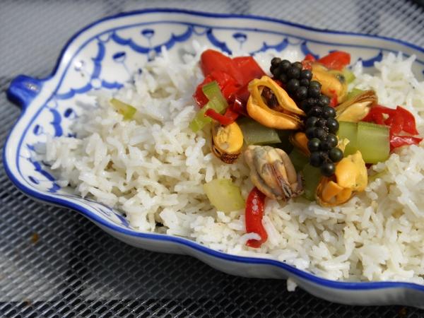 Moules rouges au riz frit, moules, riz frit, riz, la Cocotte, la voix du Nord